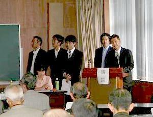 平成26年度役員会 および慰霊祭